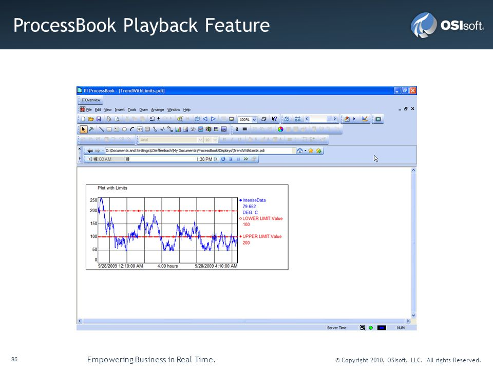 ProcessBook Playback Feature