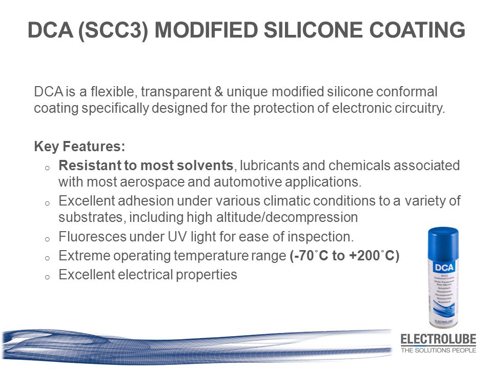 DCA (SCC3) MODIFIED SILICONE COATING
