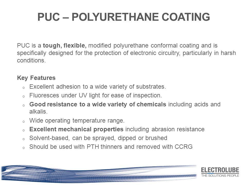 PUC – POLYURETHANE COATING