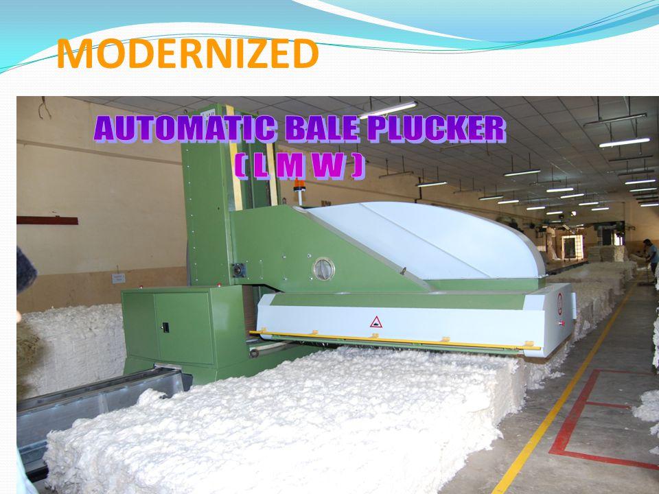 AUTOMATIC BALE PLUCKER