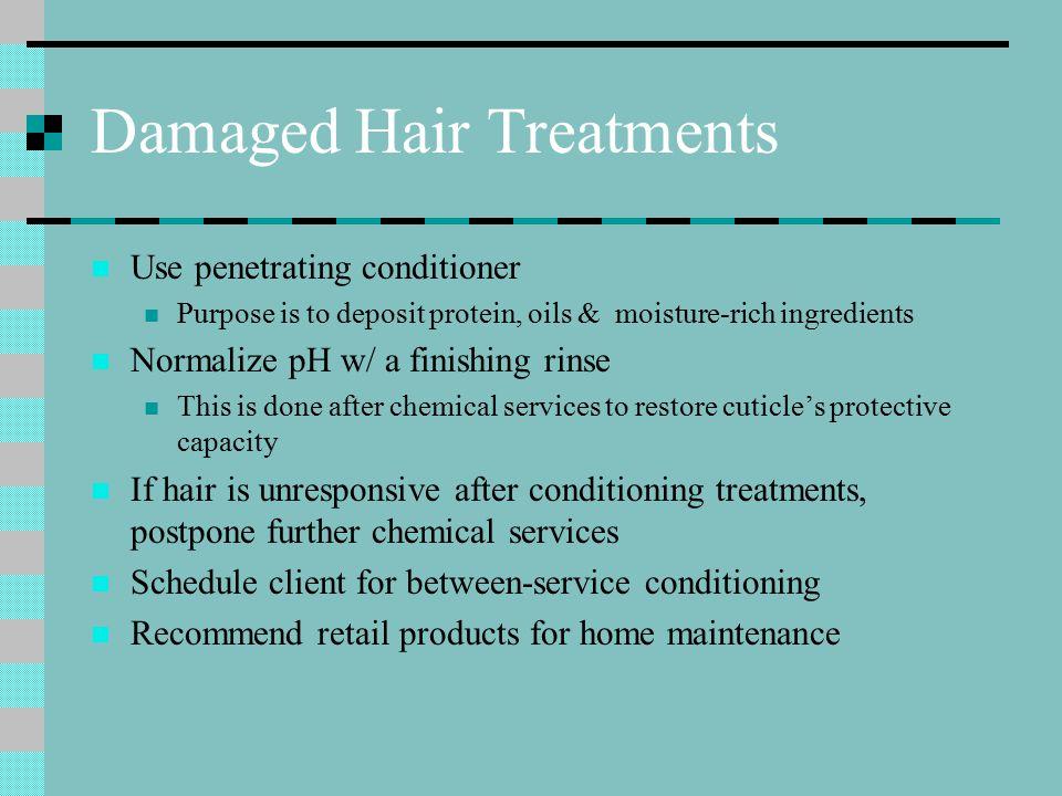 Damaged Hair Treatments