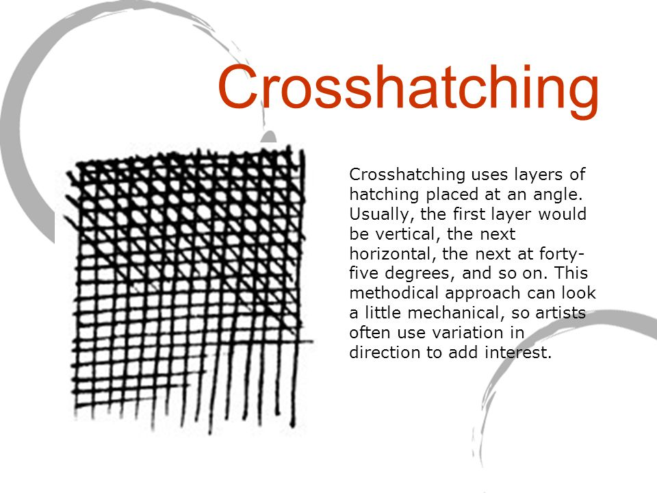 Crosshatching