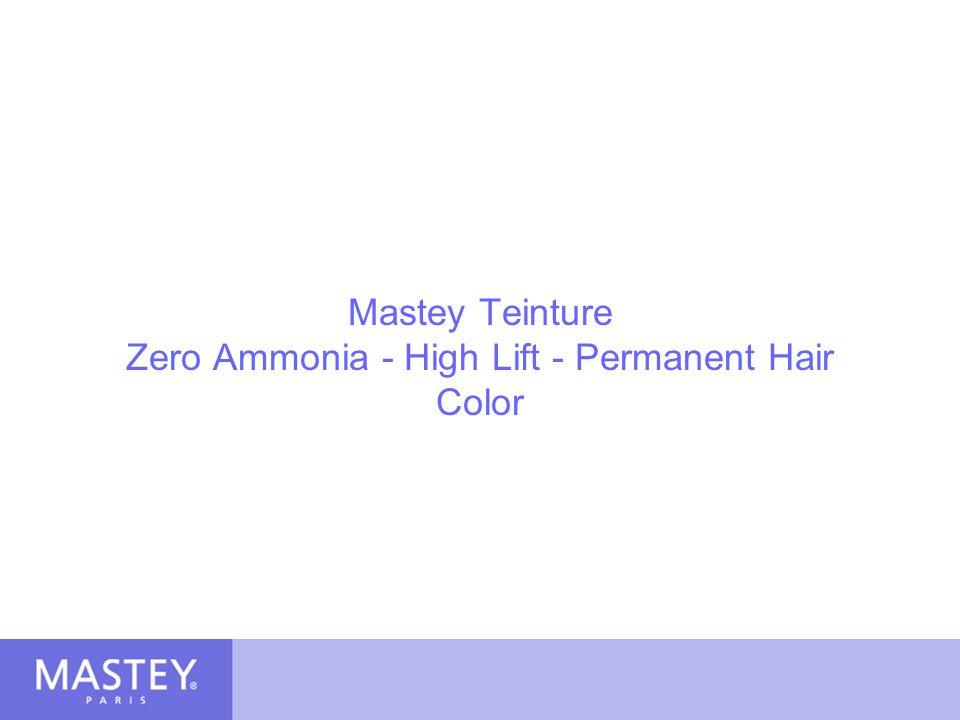 Mastey Teinture Zero Ammonia - High Lift - Permanent Hair Color