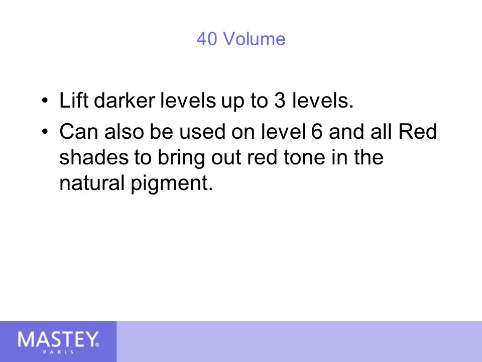 Lift darker levels up to 3 levels.