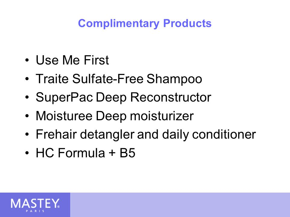 Complimentary Products