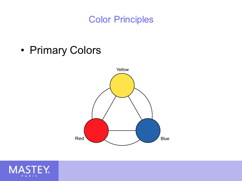 Color Principles Primary Colors