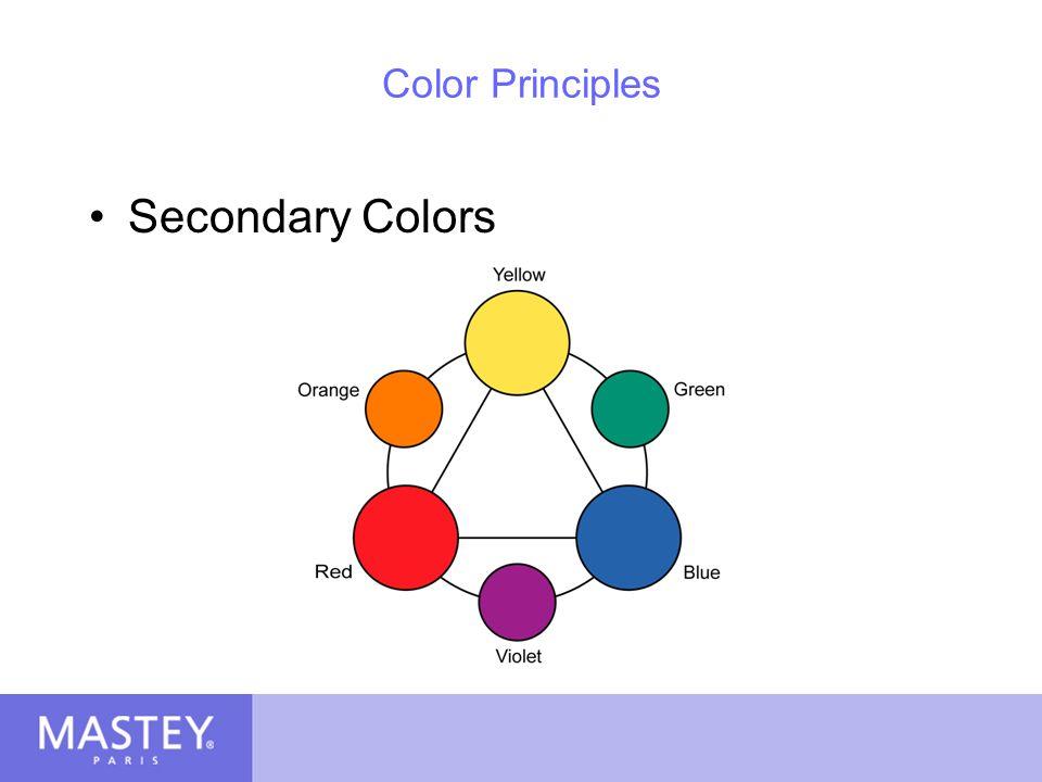 Color Principles Secondary Colors