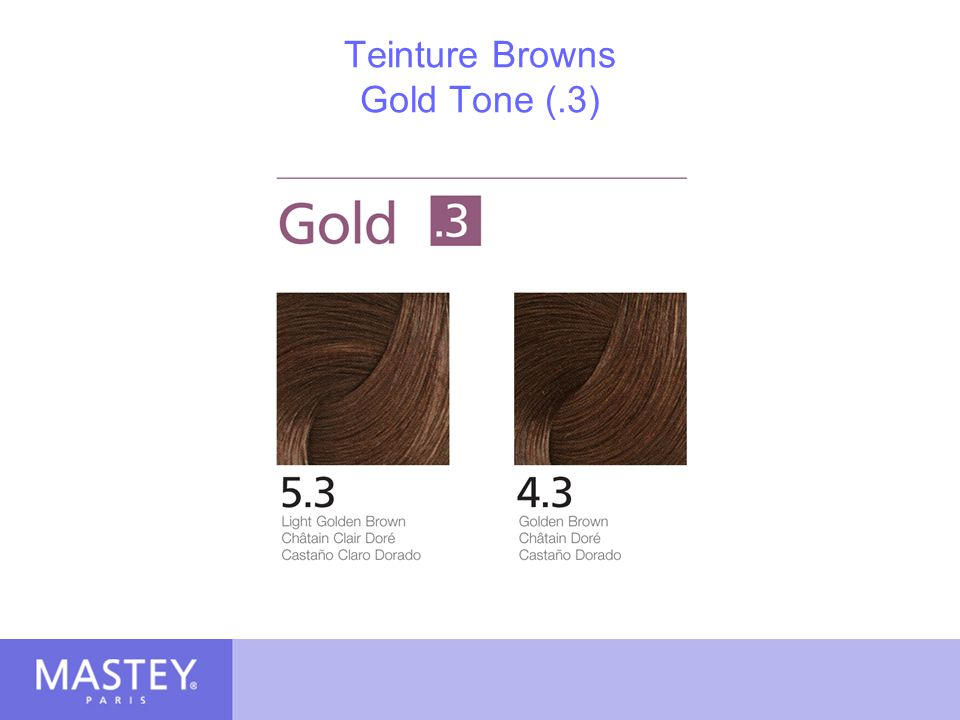 Teinture Browns Gold Tone (.3)