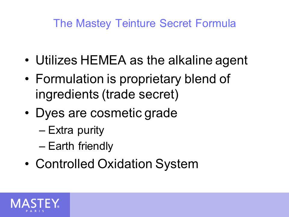 The Mastey Teinture Secret Formula
