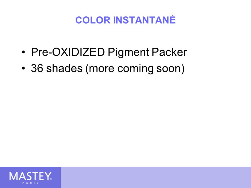Pre-OXIDIZED Pigment Packer 36 shades (more coming soon)