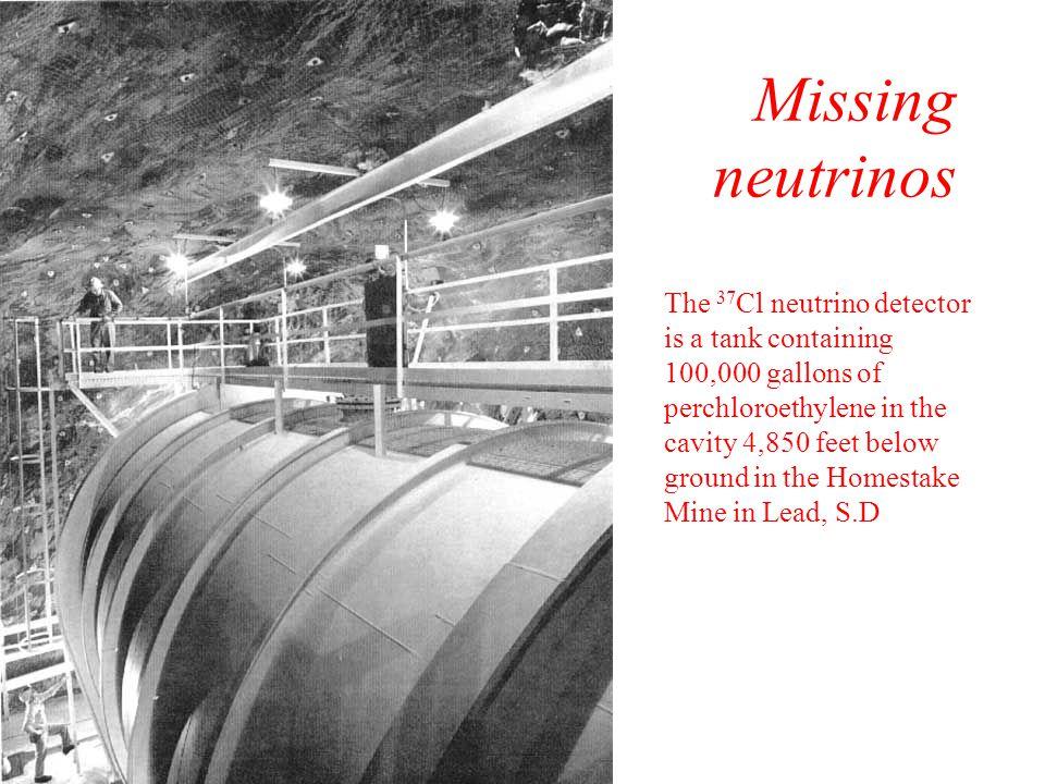Missing neutrinos