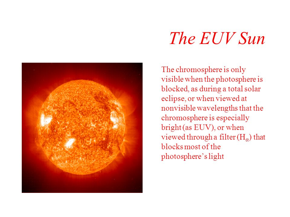 The EUV Sun