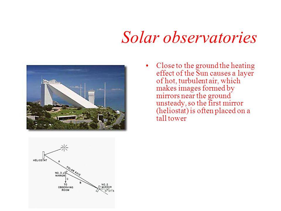 Solar observatories