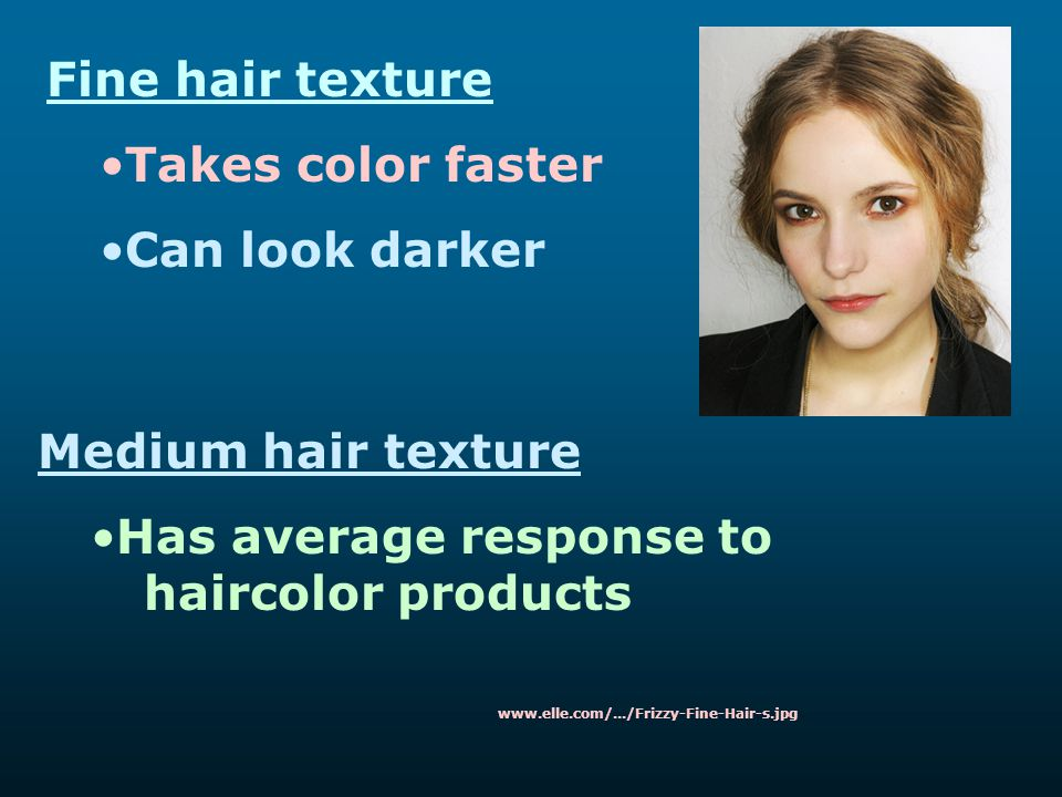 Has average response to haircolor products