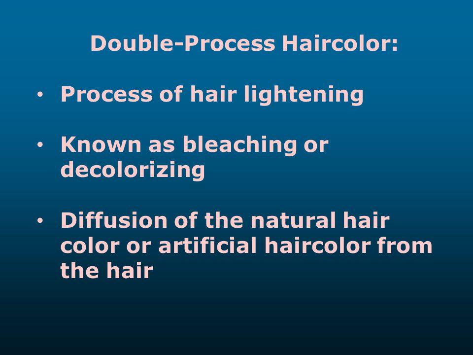 Double-Process Haircolor: