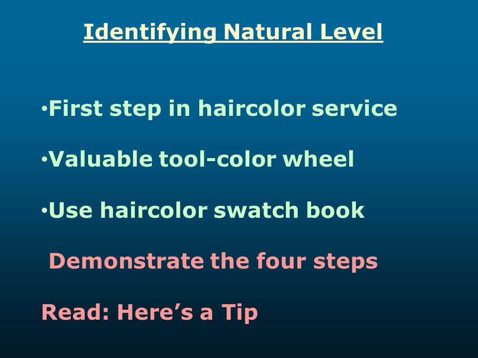 Identifying Natural Level