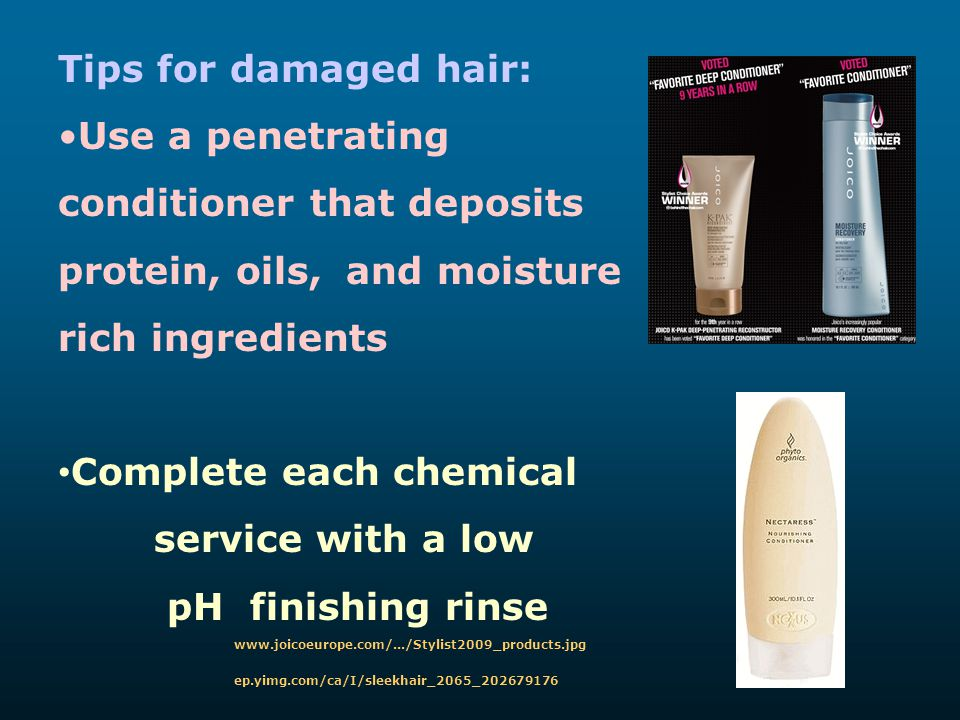 conditioner that deposits protein, oils, and moisture rich ingredients
