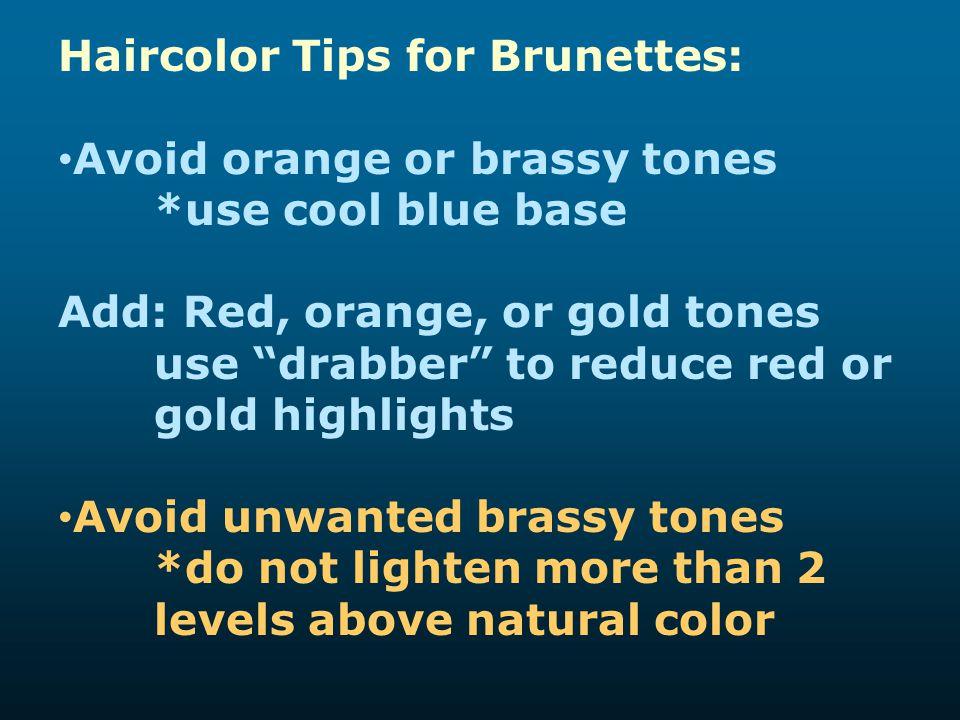 Haircolor Tips for Brunettes:
