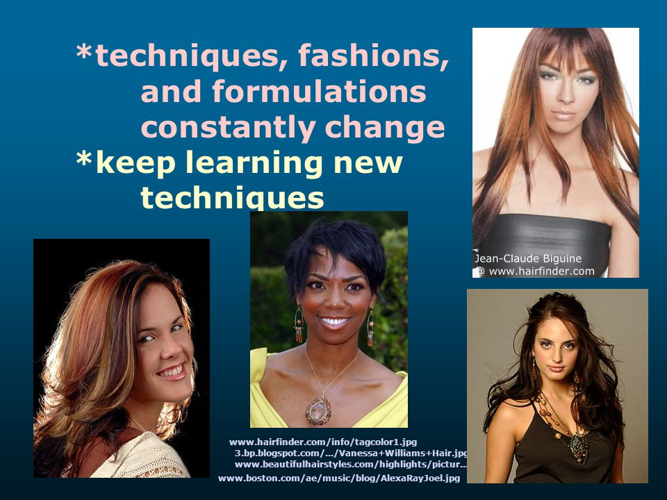 and formulations constantly change *keep learning new techniques