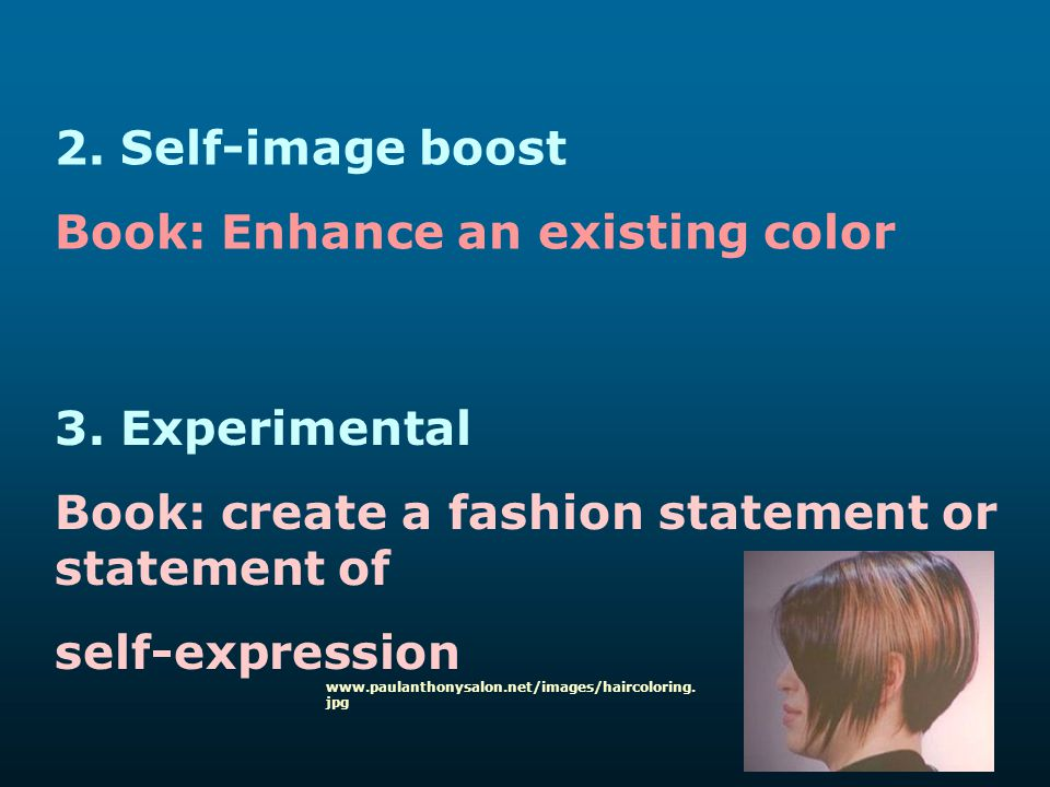 Book: Enhance an existing color