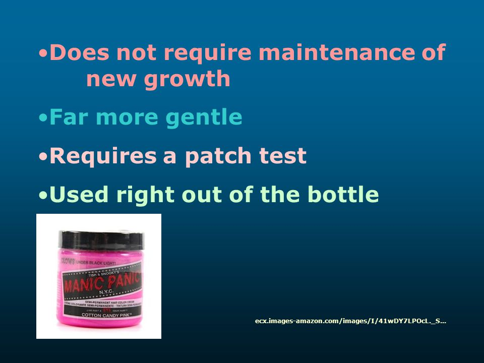 Does not require maintenance of new growth Far more gentle