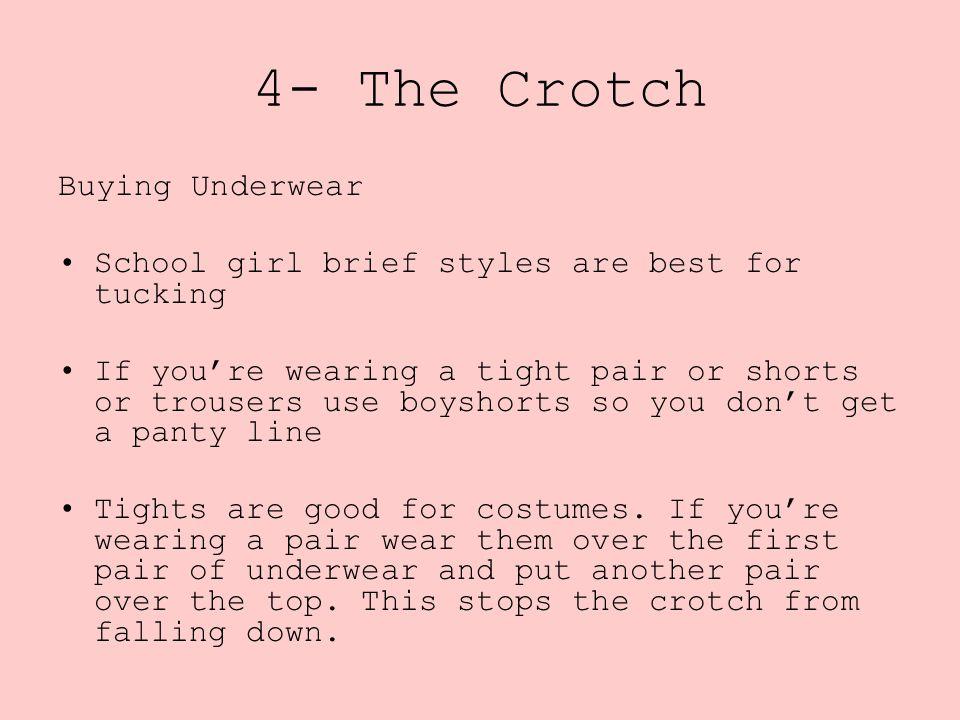 4- The Crotch Buying Underwear