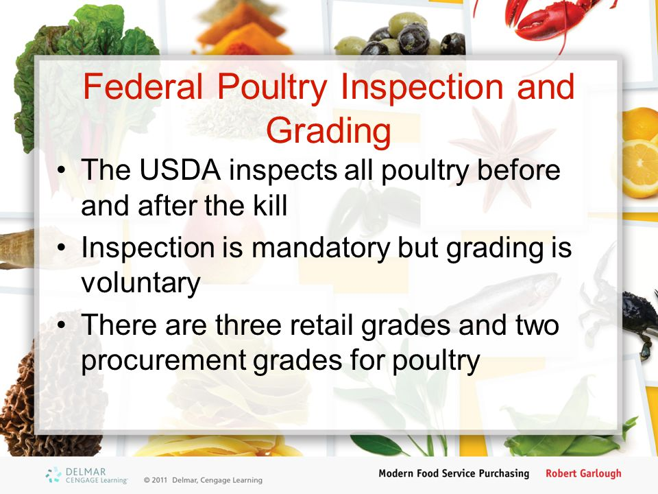Federal Poultry Inspection and Grading