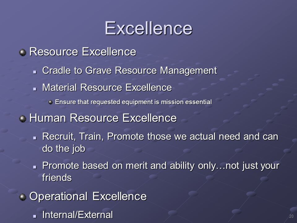 Excellence Resource Excellence Human Resource Excellence