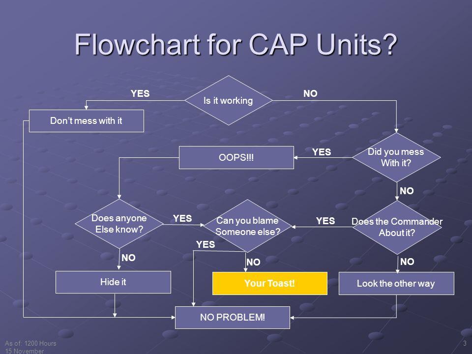 Flowchart for CAP Units