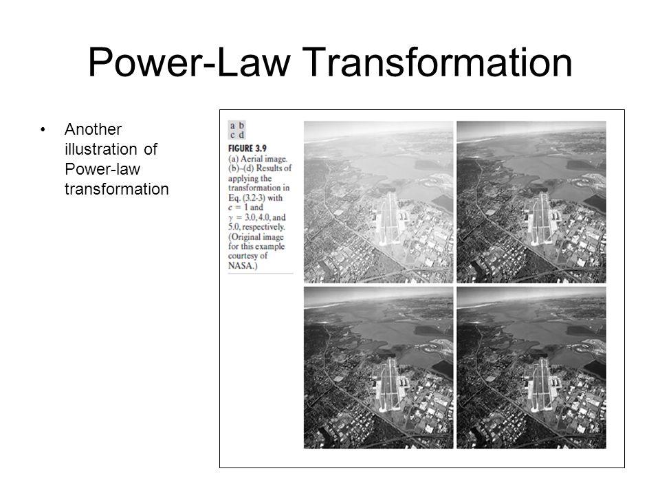 Power-Law Transformation