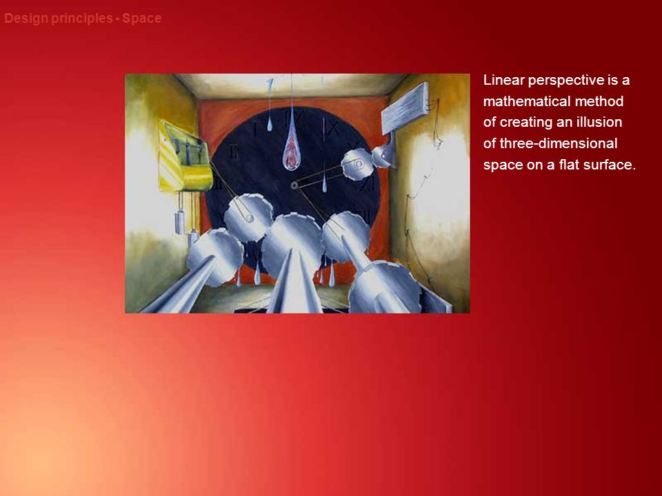 Design principles - Space
