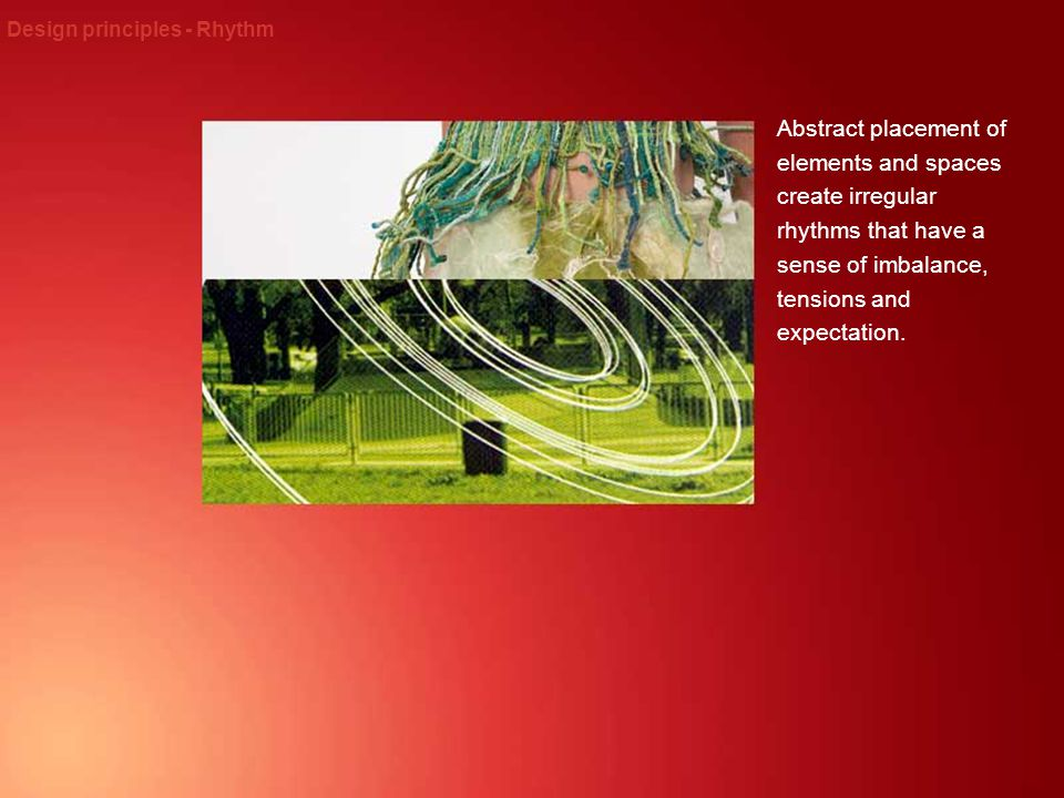 Design principles - Rhythm