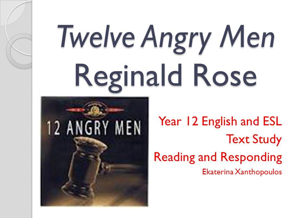 Twelve Angry Men Reginald Rose