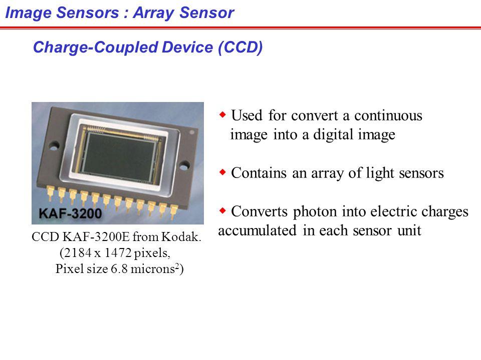 Image Sensors : Array Sensor