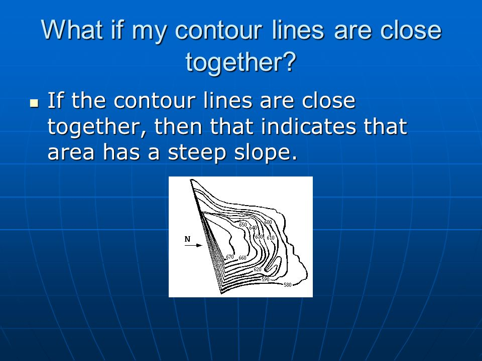 What if my contour lines are close together