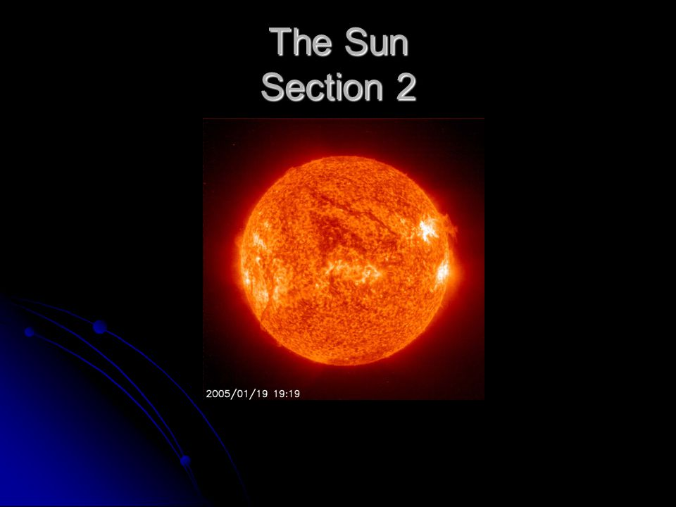 The Sun Section 2