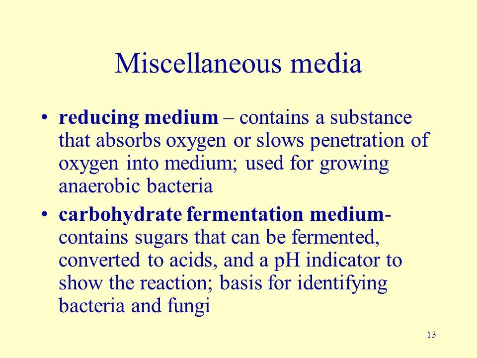 Miscellaneous media