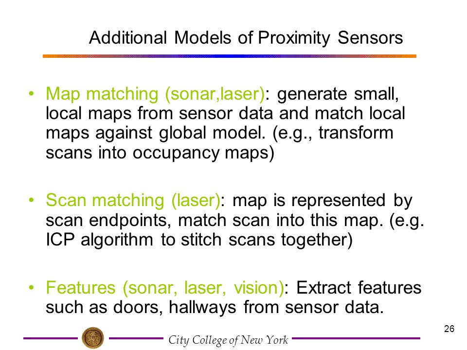 Additional Models of Proximity Sensors