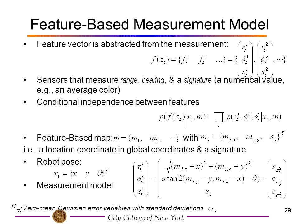 Feature-Based Measurement Model