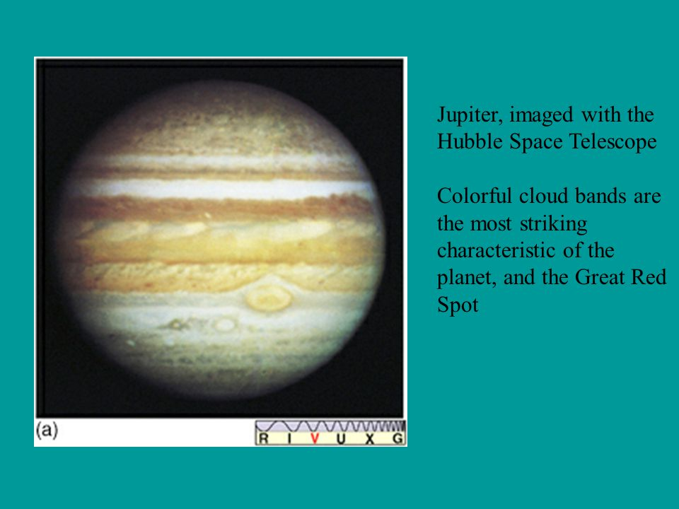 Jupiter, imaged with the