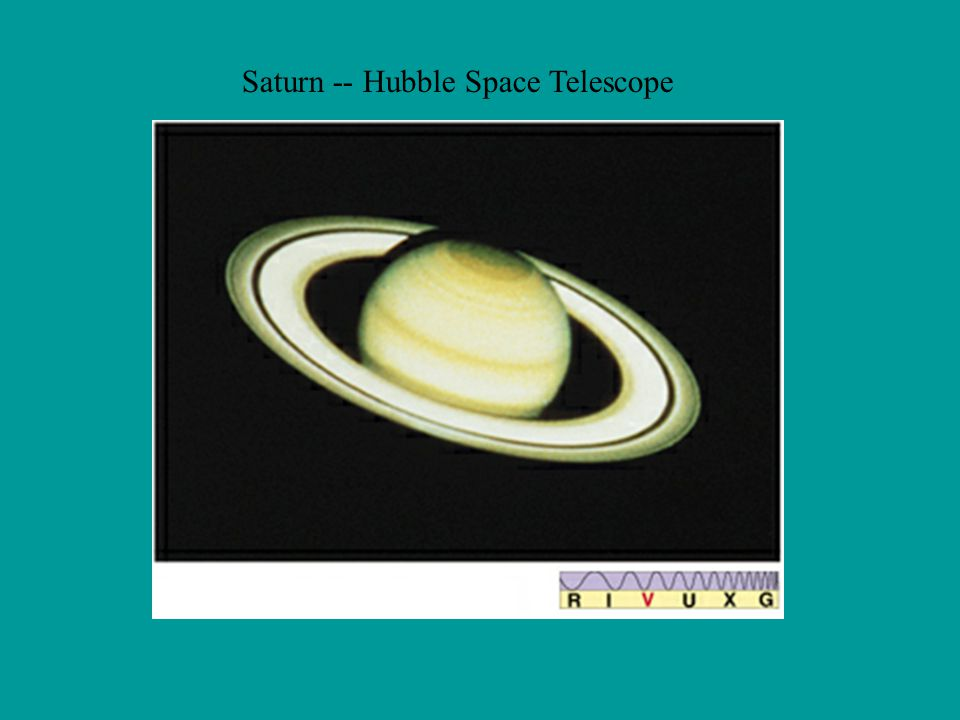 Saturn -- Hubble Space Telescope