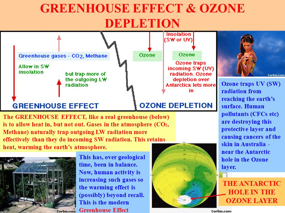 GREENHOUSE EFFECT & OZONE DEPLETION