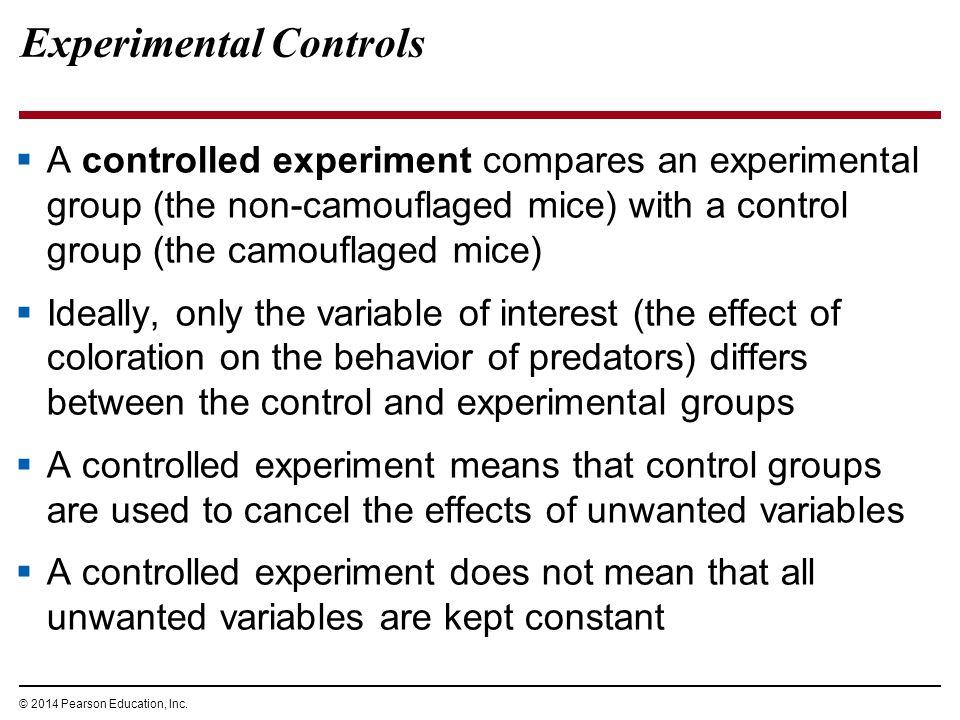 Experimental Controls