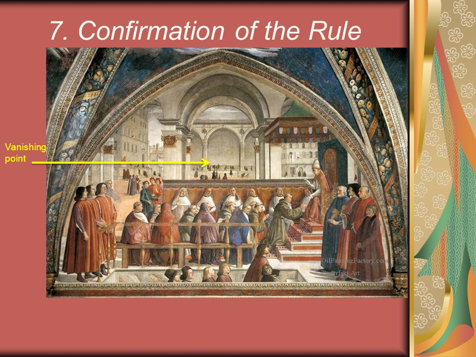 7. Confirmation of the Rule
