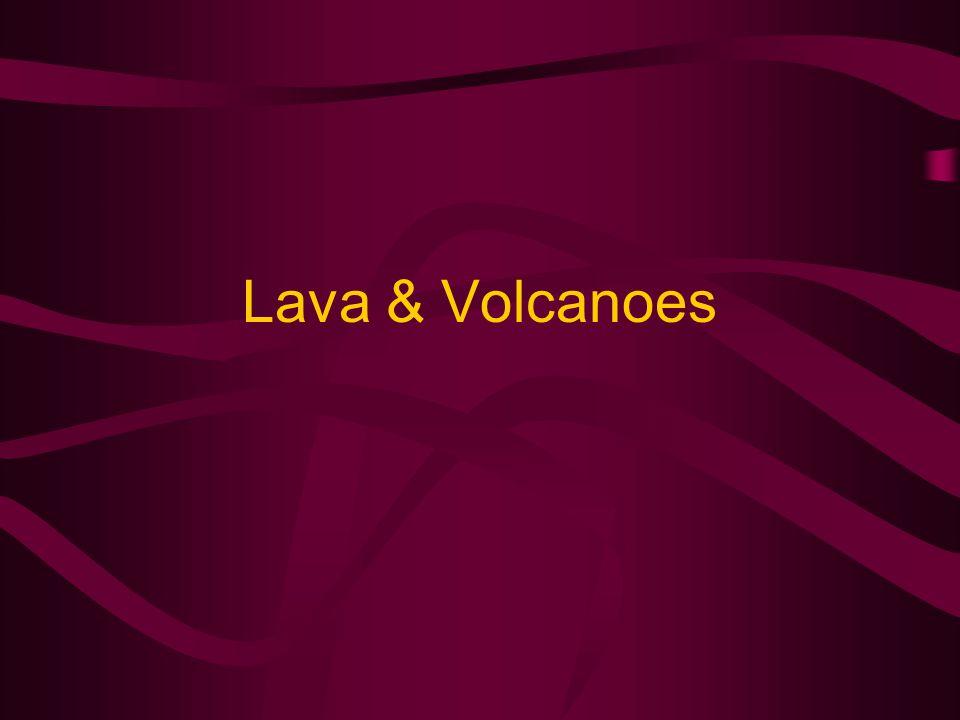Lava & Volcanoes