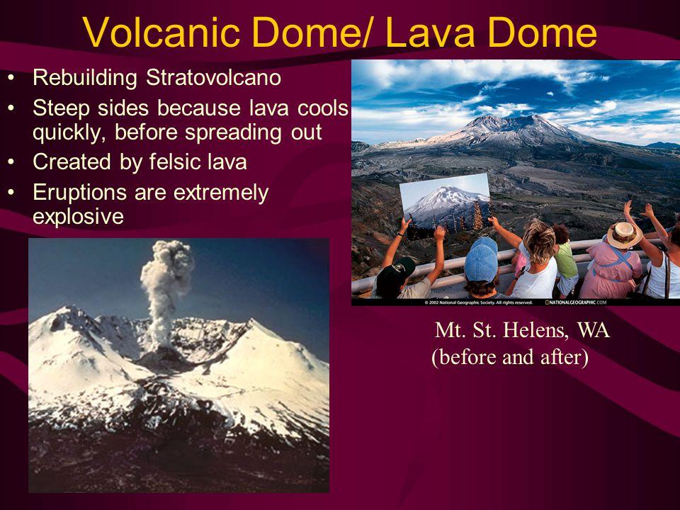 Volcanic Dome/ Lava Dome