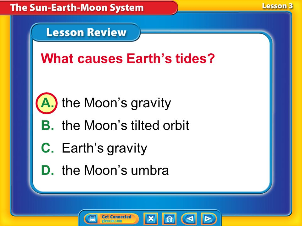 What causes Earth's tides