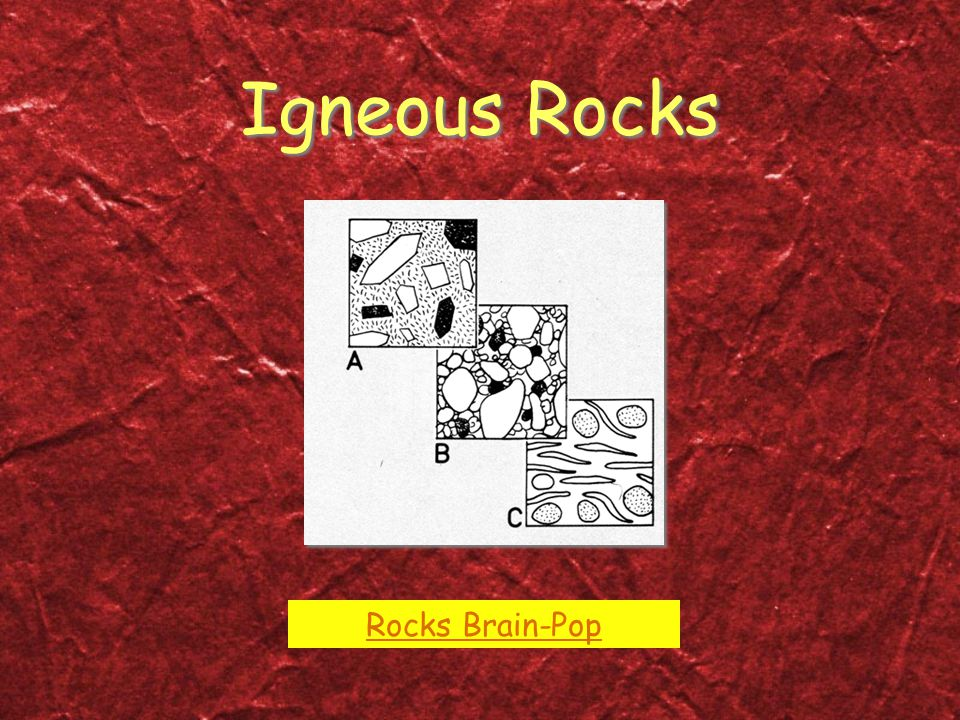 Igneous Rocks Rocks Brain-Pop
