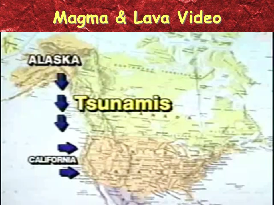 Magma & Lava Video