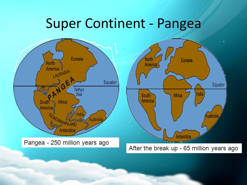 Super Continent - Pangea